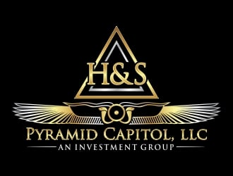 HnS Pyramid Capitol, LLC an Investment Group logo design