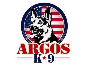 ARGOS K9  logo design
