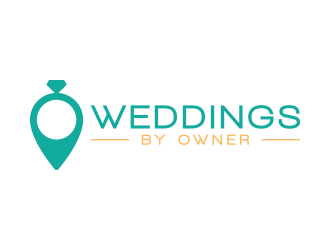 Weddings by Owner logo design