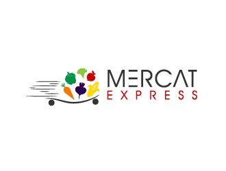 Mercat Express logo design