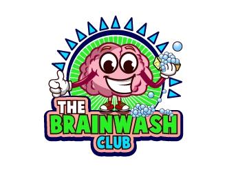 The Brainwash Club logo design