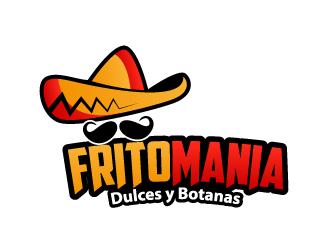 Fritomanía logo design