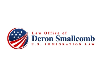 Law Office of Deron Smallcomb logo design