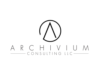 Archivium Consulting logo design