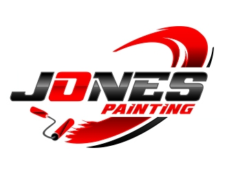Jones Painting  logo design