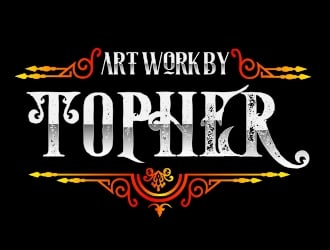 Art Work by Topher logo design