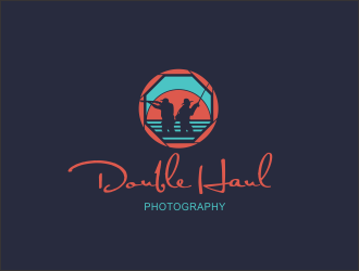 double haul photography logo design