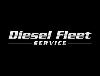 Diesel Fleet Service  logo design