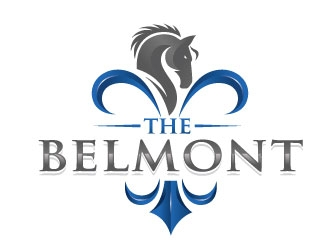 The Belmont logo design