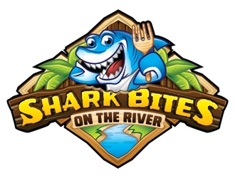 Shark Bites logo design