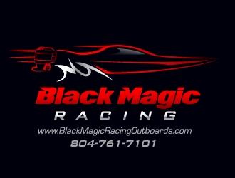 Black Magic Racing LLC logo design