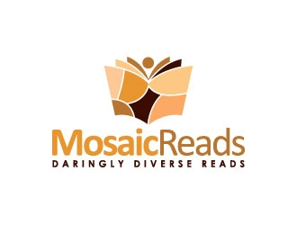 Mosaic Reads logo design