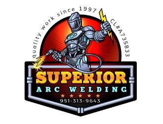 Superior Arc Welding logo design