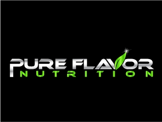 Pure Flavor Nutrition logo design