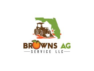Browns Ag Service LLC logo design