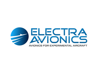 Electra Avionics - Avionics for Experimental Aircraft logo design