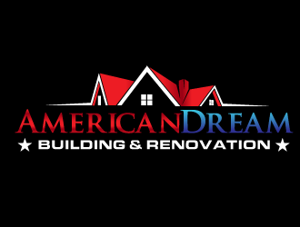 American Dream  building & renovation  logo design