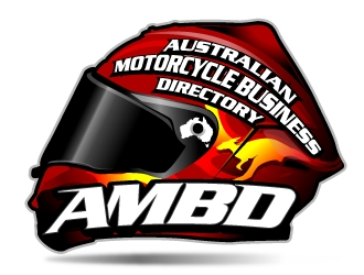 Australian motorcycle business directory logo design