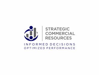 Strategic Commercial Resources logo design
