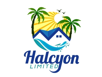 Halcyon Limited logo design