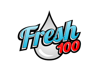 Fresh 100 logo design
