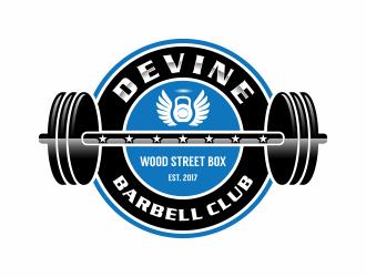Devine Barbell Club logo design
