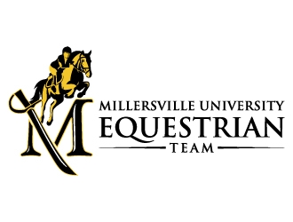 Millersville University Equestrian Team  logo design