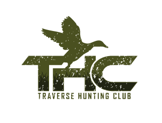 Traverse Hunting Club logo design
