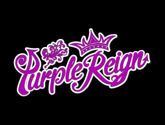 Purple Reign logo design