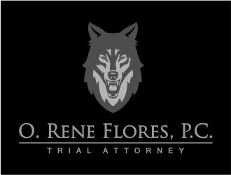 O. Rene Flores, P.C. logo design