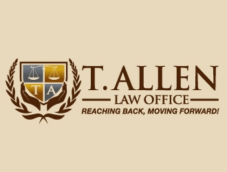 T. Allen Law Office  logo design