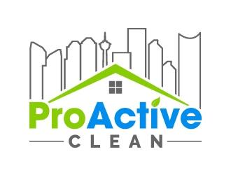 ProActive Clean logo design