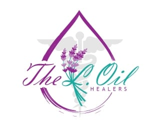 The L.Oil Healers logo design