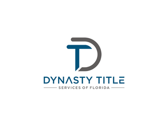Dynasty Title Services of Florida  logo design