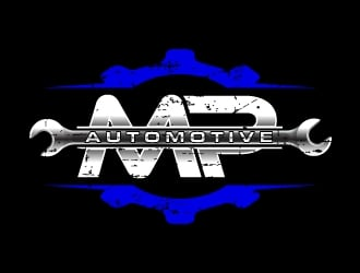 MP Automotive logo design