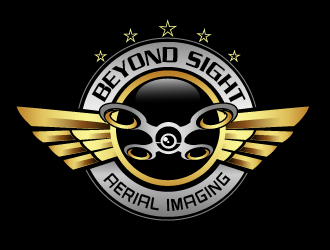 Beyond Sight Aerial Imaging logo design