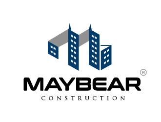 MayBear Construction logo design