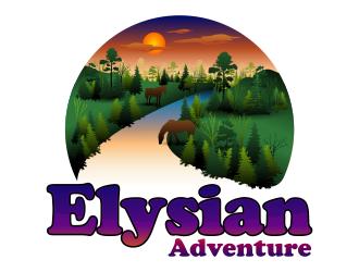 Elysian Adventure  logo design