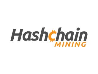 Hashchain mining LLC logo design