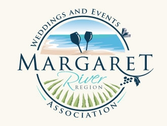 Margaret River Region Weddings and Events Association logo design