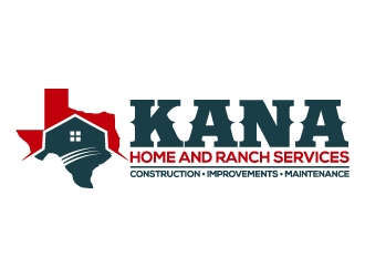 KANA HOME AND RANCH SERVICES logo design