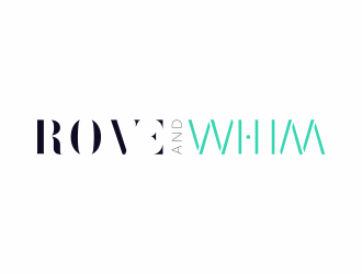 Rove and Whim logo design
