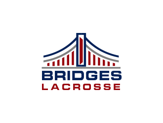 BRIDGES LACROSSE logo design