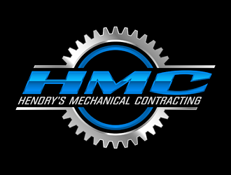 Hendrys Mechanical Contracting  logo design