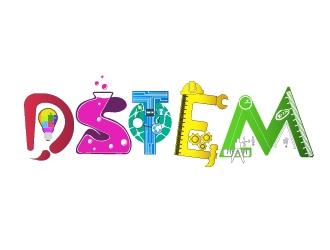DSTEM logo design