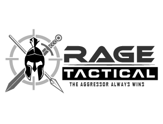 RAGE Tactical logo design
