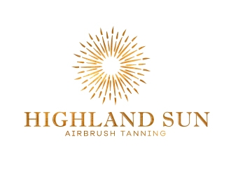 Highland Sun logo design
