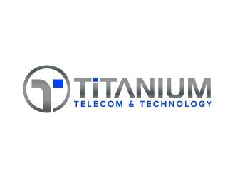 Titanium Telecom & Technology logo design