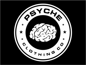Psyche Clothing Co. logo design