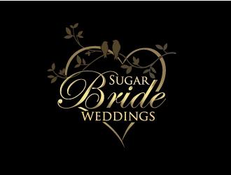 Sugar Bride Weddings logo design